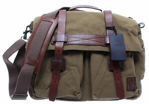 ae833a897b BELSTAFF 75610375 Colonial Messenger Bag Man Khaki Sac Bandouliere ...