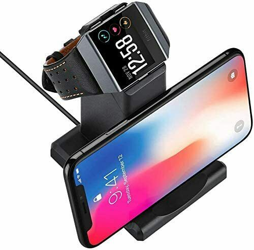 Stand for Phone Charging Dock Station Holder Compatible Fitbit Ionic Charger