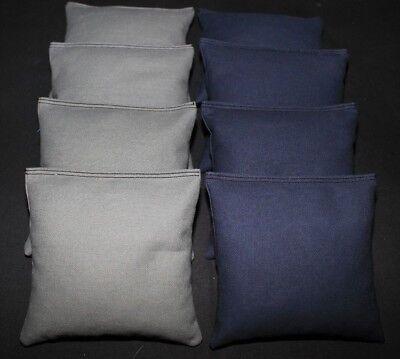 CORNHOLE BEAN BAGS Dark Gray and HunterGreen 8 ACA Regulation Corn Hole Game Bag
