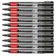 24 Stück 24 x Permanentmarker Luxor 250 Filzstifte Rundspitze 1-3 mm schwarz