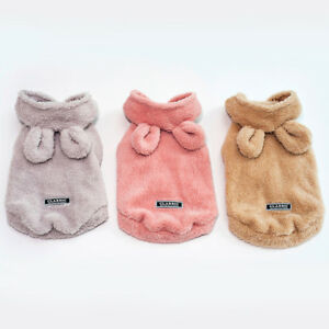Small-Pet-Puppy-Dog-Hooded-Sweater-Coat-Costume-Hoodie-Apparel-Winter-Clothing