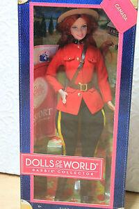 Barbie Canada Poupées Du Monde Nrfb