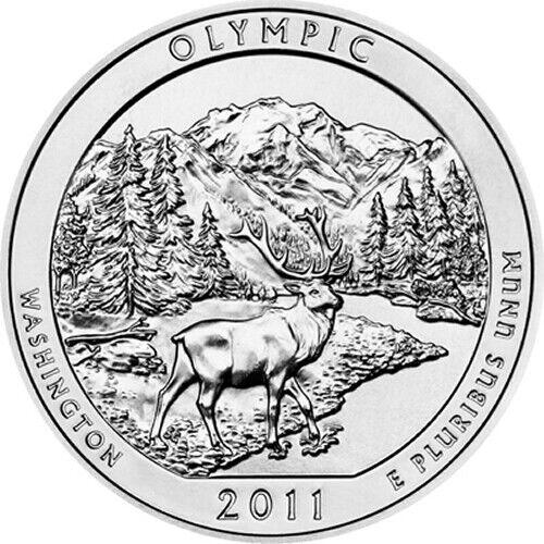 Olympic ATB   NEW 2011 Silver 5oz