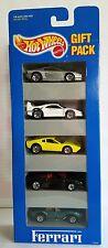 FERRARI Hotwheels 1993 5 Pack Gift Pack #12405 F40,308,348,250,& Testarossa