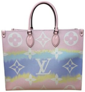 New Louis Vuitton Escale Monogram Pastel Onthego Gm Tote Soldout Ebay