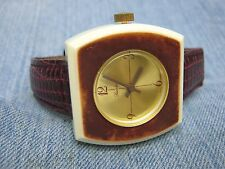 Men's Vintage LUCERNE Swiss Mechanical  Silver Watch