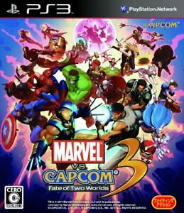 USED-PS3-Marvel-Vs-Capcom-3-Fate-of-Two-Worlds-34982-Japan-Import