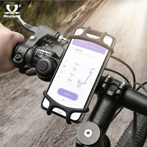 Universal-Motorcycle-MTB-Bike-Bicycle-Handlebar-Mount-Holder-For-Cell-Phone-GPS