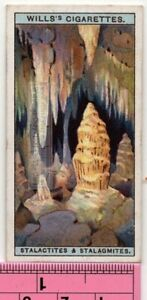 Stalactites-And-Stalagmites-Speleothems-Cave-Dripstone-90-Y-O-Ad-Trade-Card
