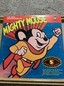 The-New-Adventures-of-Mighty-Mouse-Peter-Pan-Records-1118-Used