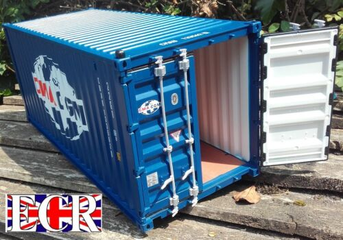 NEW G SCALE SHIPPING CONTAINER 45mm GAUGE 20/' CARGO HAUL FREIGHT CONTAINERS