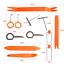 Universal Pry Removal Open Tools Kit Car Dash Door Trim Panel Clip Radio//Lights