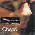 CD CARTONNE PASCAL OBISPO 2T PAS BESOIN DE REGRETS (DUO DANIEL LEVI) NEUF SCELLE