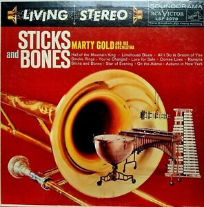 RCA LIVING STEREO LSP-2070 *SHADED DOG* STICKS & BONES *MARTY GOLD *1S/1S VG+