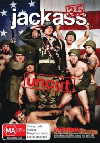 1 of 1 - Jackass - 2.5 Uncut (DVD, 2008) - Brand New & FREE POSTAGE