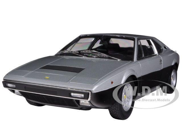 1973 Ferrari Dino 308 GT4 Elite Edition argent noir 1 18 par HOTWHEELS X5483