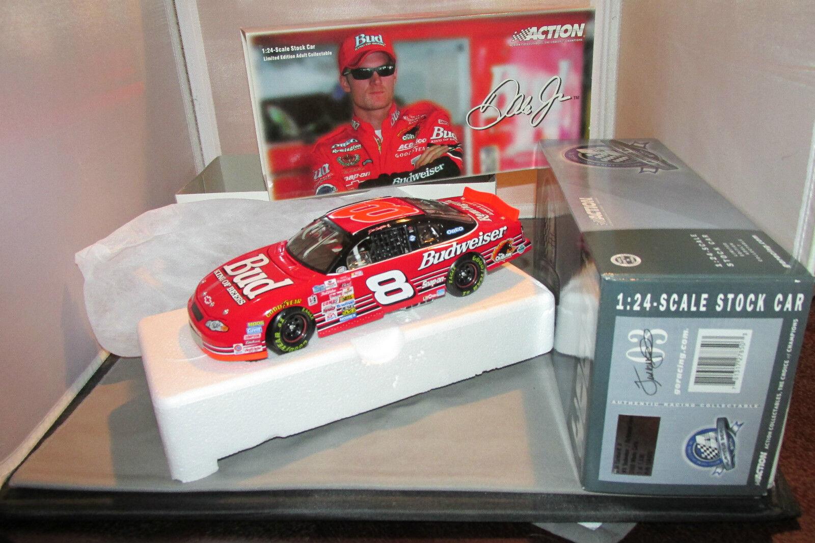 2000 Dale Earnhardt Jr. Budweiser   Richmond Richmond Richmond Race  Action 1 of 1,536 Bank bb6933