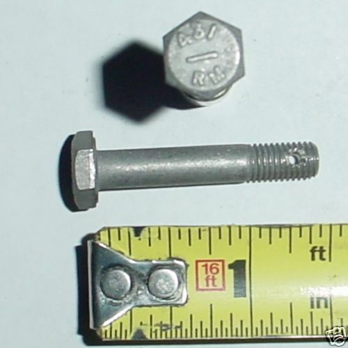 "1//4-28 x 1.438/"" Aircraft Hex Bolts AN4C13 15 ea"