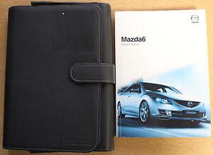 mazda 6 mazda6 handbook owners manual wallet 2008 2010 pack 13375 ebay rh ebay co uk 2010 mazda 6 user manual mazda 6 2010 repair manual pdf