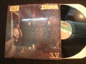 Zebra-3-V-1986-Vinyl-12-039-039-Lp-Shrink-Exc-Prog-Hard-Rock-AOR