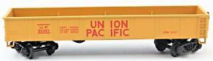 Bachmann Ho Scale Vintage 42' Silver Steel Gondola Car Union Pacifc 70200