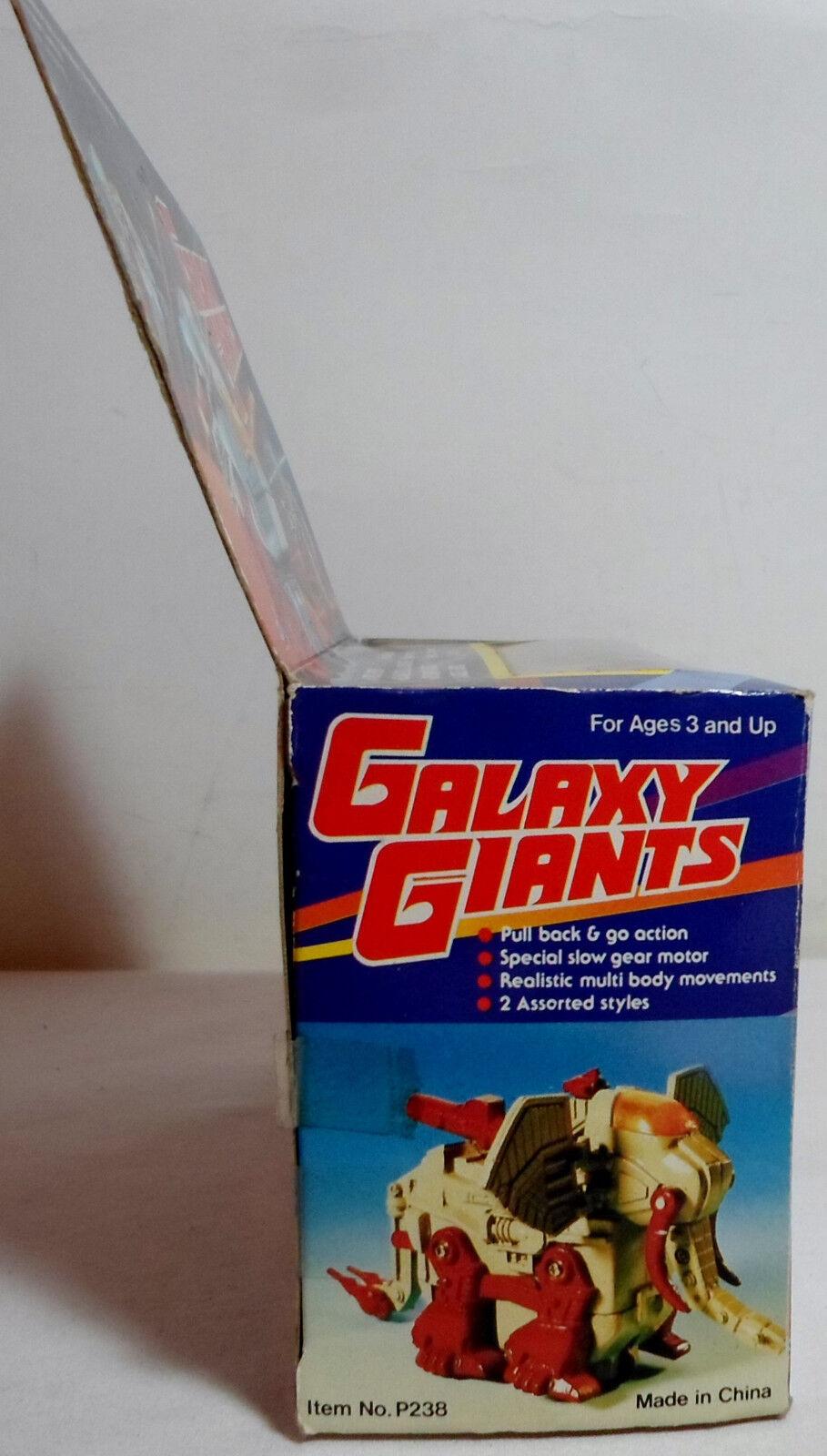 GALAXY GIANTS VTG 80'S RETRO FRICTION ROBOT ZOID PULL BACK BACK BACK ACTION SEALED BOX B f0ddb4