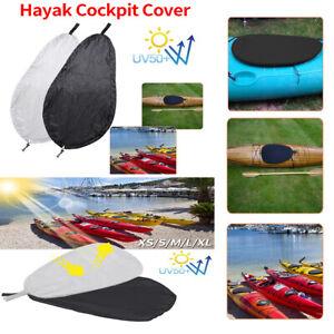 Blocking Kayak Cockpit Cover Seal Protector Waterproof Adjustable S-XL UV50
