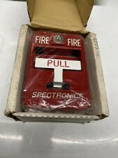 Brand New In Box Spectronics Sg 32 Fire Alarm Pull Station New Old Stock