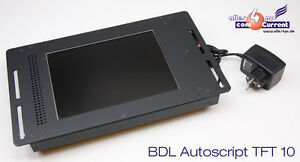"10.1"" 25.7cm Tft 10 Video Prompter Monitor Bdl Autoscript Video Tft10 Av-0800"