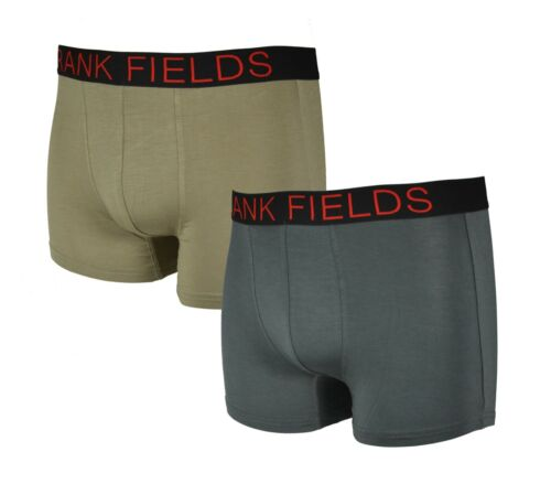 2 Hommes Bamboo Boxer Shorts Retro Pant taille 5//m à 9//xxxl Bambou Viscose Modal