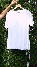 White DRI-FIT TZITZIT Size S Tallit Katan Shirt Breathable Jewish Kosher Tzitzis
