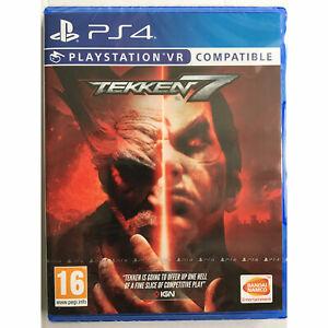Tekken 7 PS4 PLAYSTATION - VR Compatible New and Sealed