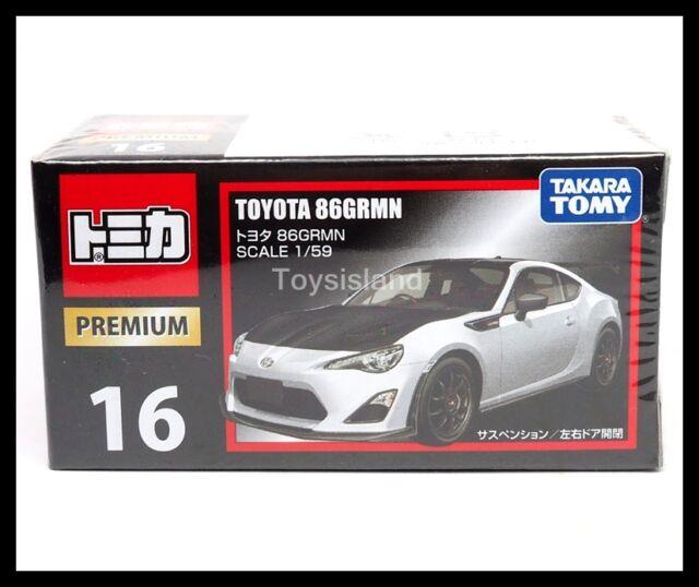 TOMICA PREMIUM 16 TOYOTA 86 GRMN 1/59 TOMY DIECAST CAR 86GRMN