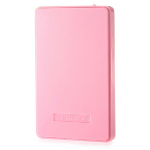 USB3.0 Plastic SATA Laptop PC Hard Drive Enclosure Mobile HDD SSD Case Box Cover