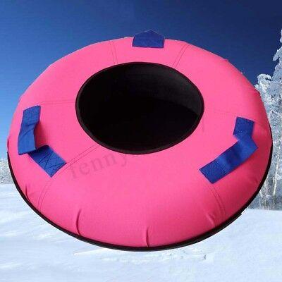 Heavy Duty Colossal Snow Sled Tube Huge Rubber Inner Sledding Colored Cover USA