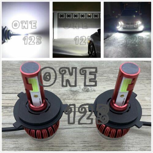 H4 9003 HB2 Bright 8000k White 45W CREE LED Headlights Bulb Kit High Low Beam