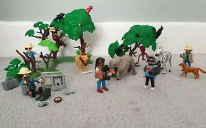 Playmobil-Safari-Park-Paquete-lotes-Animales-Figuras-Film-Crew
