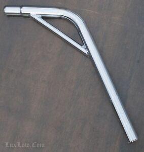 Seatpost Alloy 25.4mm Silver Bike Cycling Lowrider Cruiser Chopper Road BMX MTB
