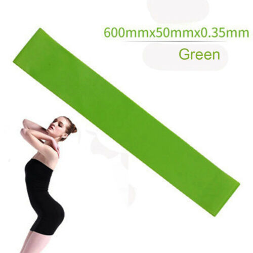 Workout Yoga Belt Resistance Bands Strength Rubber loops Fitness Gym Equipment