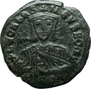 LEO-VI-the-WISE-886AD-Constantinople-Follis-Medieval-Byzantine-Coin-i66083