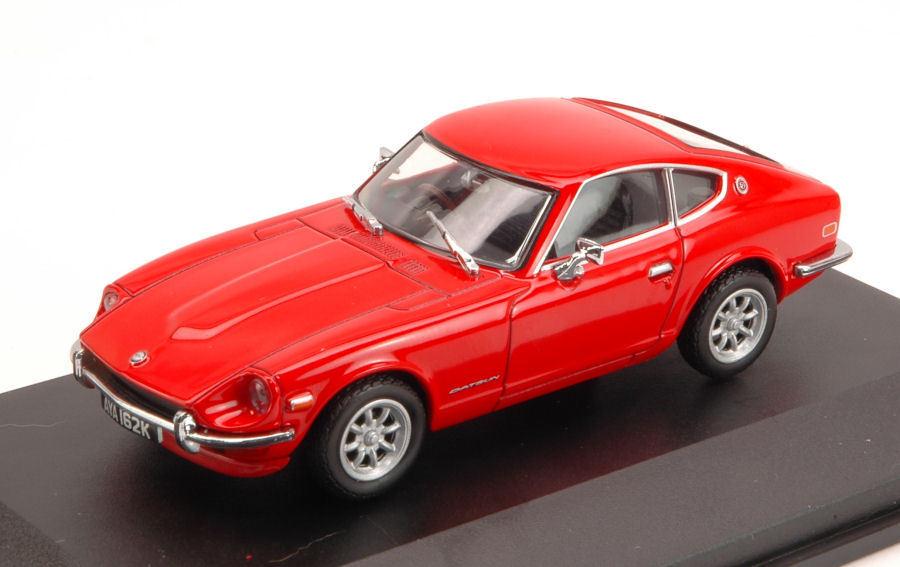 Datsun 240z 1972 Red 1 43 Model OXFORD