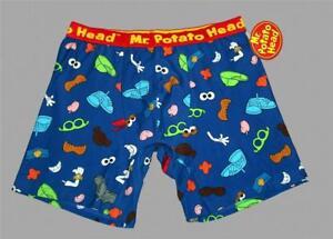 7b3d33de40 Details about Hasbro Retro Mr. Potato Head Tossed Busy Theme Colorful Boxer  Briefs Men s NWT