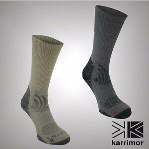 DRX HIKING UK 7-11 2 PACK KARRIMOR MEN/'S LIGHT CUSHION WALKING SOCKS