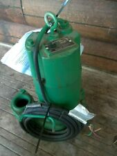Myers Submersible Waste Water Pump Whr 10 23 1hp 25 Discharge New