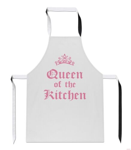 Queen of the Kitchen Mothers Day Mum Great Bake Off Gift Cook APRON Tabard A25