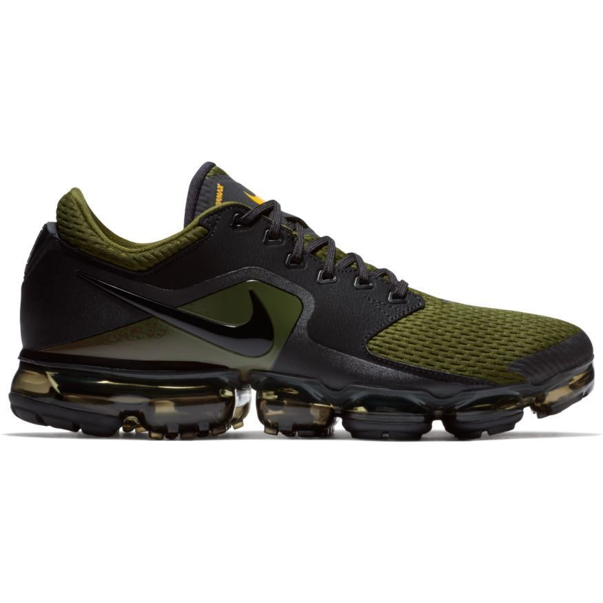 Men's Nike Air VaporMax Running AH9046-005 BLACK/BLACK-SEPIA STONE-LEGION GREEN