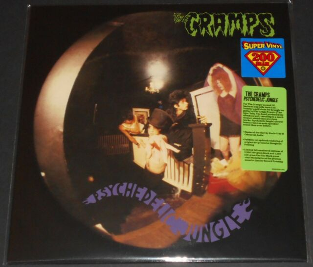 THE CRAMPS psychedelic jungle USA LP new reissue 200 GRAM limited #1058/1500