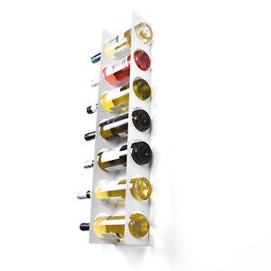 Image Is Loading Wall Cabinet Mounted Steel Narrow Wine Rack 7
