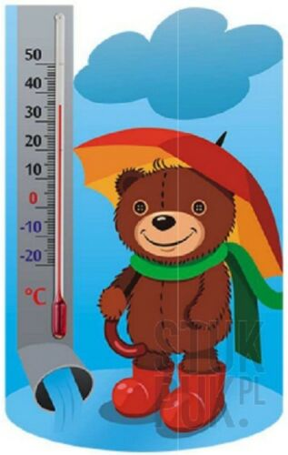 10°C to 50°C KIDS ROOM THERMOMETER  TEMPERATURE