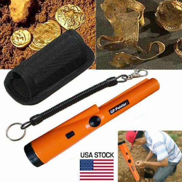 GP-Pointer Probe Metal Gold Detector Vibration Light Alarm Security Pin PointeSK